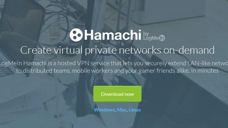 「Hamachi」で簡単にVPNを構築する