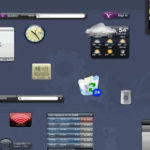 デスクトップアクセサリ「Yahoo! Widgets」